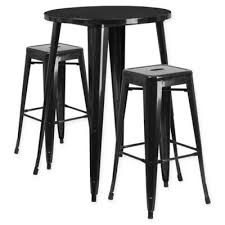 Bar Table And Stool Set Buy Bar Set Patio Furniture From Bed Bath U0026 Beyond