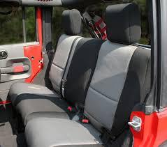 seat covers jeep wrangler rugged ridge jeep wrangler jk rear seat covers 13264 jeep