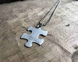 stainless steel puzzle necklace images Necklaces dakota designs jpg