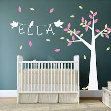 Design Own Wall Sticker 37 Nursery Wall Decals Tree Winter Forest Set Vinyl Wall Decal