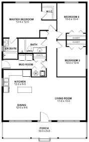 3 bedroom house floor plans floor plan for a small house 1 150 sf with 3 bedrooms and 2 baths