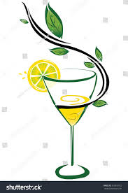 lemon drop martini clip art lemon juice on white background stock vector 455833012 shutterstock