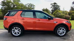 orange land rover discovery used land rover discovery sport 2 2 sd4 hse 5dr auto diesel
