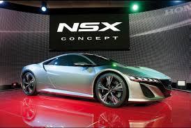 honda supercar concept 2012 honda nsx silver concept news car