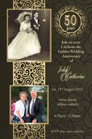 50th wedding anniversary best 25 50th anniversary ideas on 50th wedding