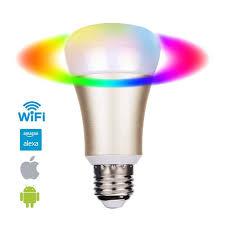 google home automation lights smart remote control wifi smart bulb work with echo alexa googlehome