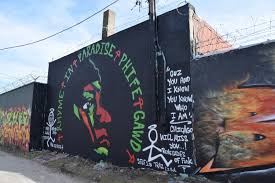 Wall Mural Country Forest Road Logan Square Graffiti Artists Pay Tribute To The Late Phife Dawg