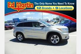toyota on sale used toyota highlander for sale special offers edmunds