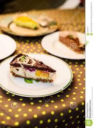 cuisine de a à z dessert variety of vegan desserts stock image image of image black