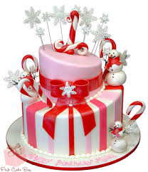 cake birthday winter candy themed birthday cake birthday cakes