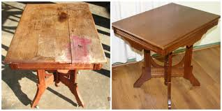 Wood Table Refinishing Furniture Refinishing Refinishing Wood Furniture Antiques