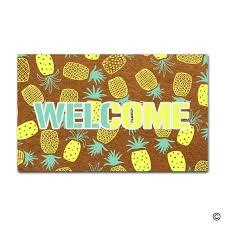 doormat funny msmr doormat funny doormat pineapple door mat decorative home indoor