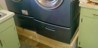 Build Washer Dryer Pedestal How To Build A Wood Platform For A Washer And Dryer Today U0027s
