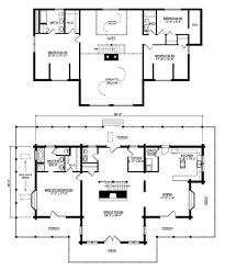 log home and log cabin floor plan details from hochstetler log