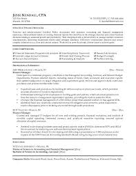 Accounting Resume Sample Finance Resume Templates Gfyork Com