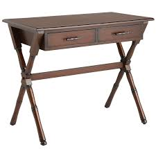 natura mahogany brown desk pier 1 imports