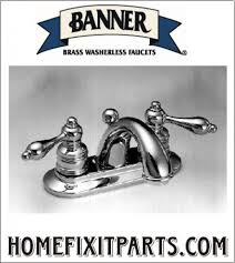 Washerless Faucets 2 Handle Lavatory Faucets