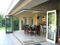 Bi Fold Glass Doors Exterior Cost Scintillating Folding Glass Doors Exterior Cost Images Exterior