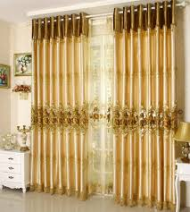 Gold Curtain Online Get Cheap Luxury Gold Curtains Living Room Aliexpress Com
