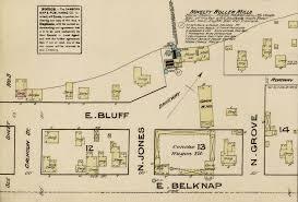 the fort worth gazette 2013 1885 novelty roller mills fire map click image to enlarge