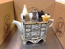 stove teapot made in by the teapottery in