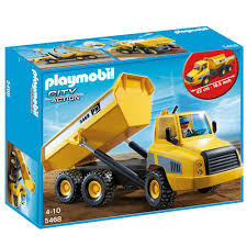 playmobil industial dump truck 5468 25 00 hamleys for