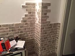 steinwand wohnzimmer baumarkt de 20 bedste idéer inden for wandpaneele steinoptik på