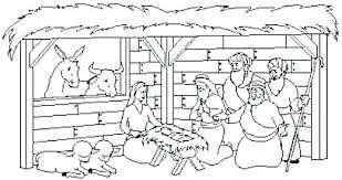 printable coloring pages nativity scenes nativity scene coloring page nativity scene coloring page best