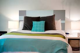 Bedroom Decorating Ideas No Headboard Captivating Hand Painted Headboards Images Decoration Inspiration