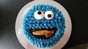 cookie monster cake youtube