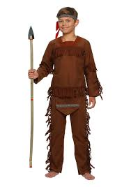Native Indian Halloween Costumes Child Boy Indian Costume