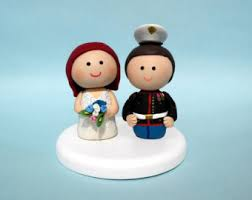 military wedding cake topper medium nurse cake topper