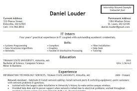 Help Desk Internship 100 It Internship Resume It Internship Resume Sausageroll Us