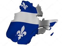 Map Of Quebec Flag And Map Of Quebec U2014 Stock Photo Sav Up 5245768