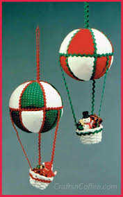 tinsel tuesdays how to make air balloon ornaments crafts n