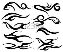 tattoo tribal wings art royalty free cliparts vectors and stock