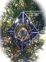 custom christmas tree ornaments by dancing light stained glass