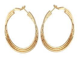 gold hoop earrings how to buy gold hoop earrings ebay
