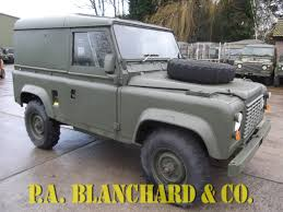 land rover military defender 4 ex military defender 90