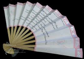 Hand Fan Wedding Programs Unique Wedding Invitations 1 Handmade Wedding Fan Programs Or