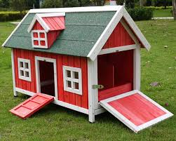 Red Barn Kennel Look For The Perfect Barn Chicken Coop