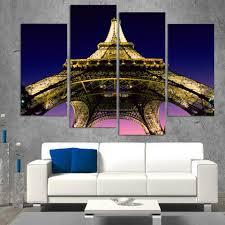 Peinture Moderne Pour Salon by Online Get Cheap Tour Eiffel Toile Aliexpress Com Alibaba Group