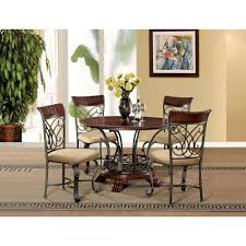 Cherry Dining Room Tables Boraam Black And Cherry Dining Table 70005 The Home Depot
