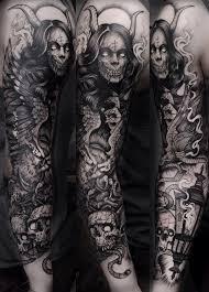 And Demons Sleeve Tattoos Sleeve Tattoos And Demons Elaxsir