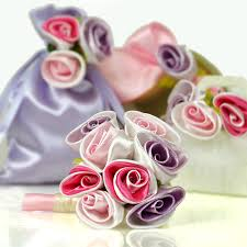 ribbon flowers satin ribbon flowers