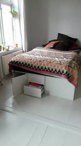 ikea kitchen cabinet storage bed diy ikea hacks elevated storage bed made of kitchen