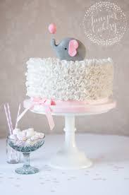 cute baby shower decoration u0026 cake ideas elephant theme white