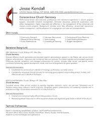 secretary resume template 61 images secretary cover