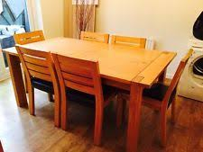 Marks And Spencer Dining Room Furniture Marks Spencer Sonoma Oak Dining Table 6 Chairs Timber