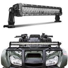 jeep light bar 20 inch 100w led light bar spot flood combo 8 560 lumens cree